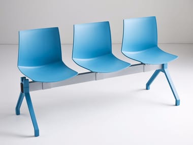 Freestanding technopolymer beam seating KANVAS PG
