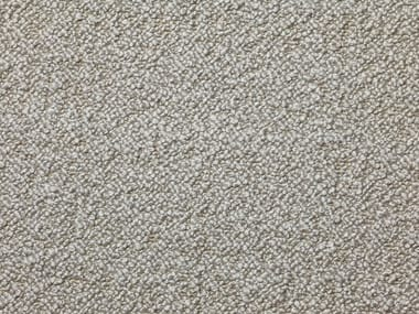 Solid-color boucle wool fabric KARAKORUM