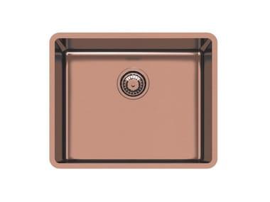 Single undermount stainless steel sink KE R15 50X40 S/TOP COPPER B.