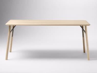 Rectangular wooden table KEA | Table