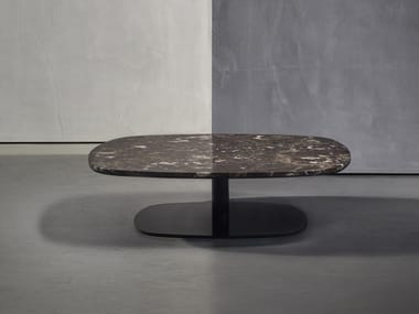 Square marble coffee table KEK | Marble coffee table