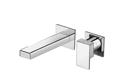 Miscelatore per lavabo a muro monocomando in ottone KELIO 63 - 6318108