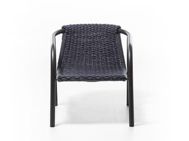 Sedia in poliestere con braccioli KEN 26