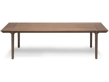 Rectangular solid wood dining table KENDO | Table