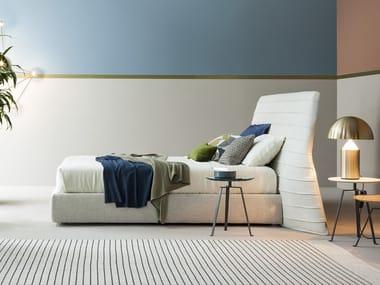 Upholstered fabric bed KENOBI