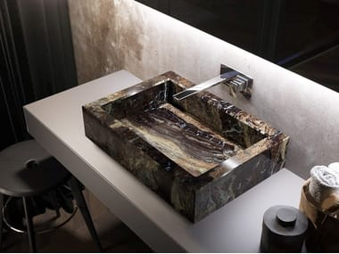Countertop rectangular washbasin KERAMIK | Countertop washbasin