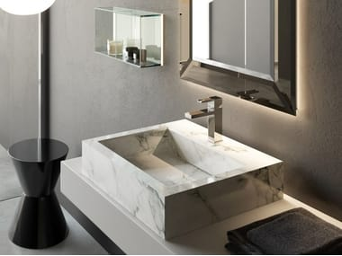 Countertop rectangular washbasin KERAMIK | Rectangular washbasin