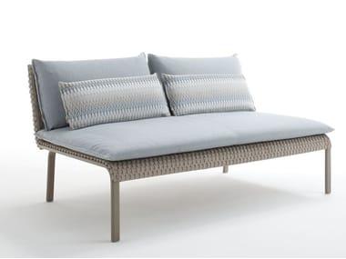 Modular 2 seater sofa KEY WEST   2 seater sofa