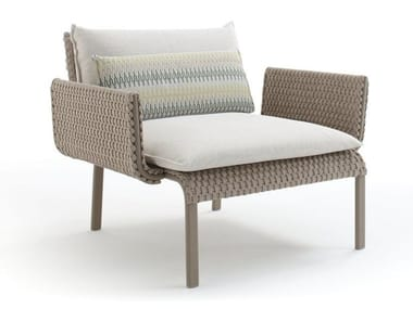 Garden armchair with armrests KEY WEST | Garden armchair with armrests
