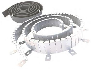 Collari antifuoco in rotolo per tubazioni combustibili KF MULTICOLLAR