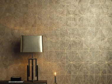 Motif cork wallpaper KHATAM CELESTE