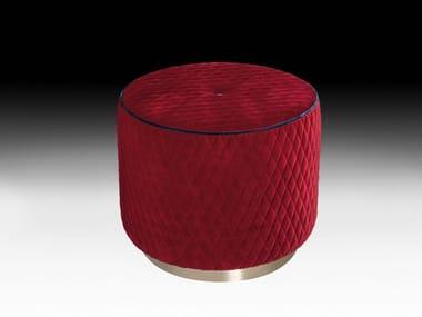 Upholstered velvet pouf KIDMAN | Velvet pouf