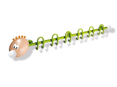 Wall-mounted polyamide coat rack for children KIDS | Wall-mounted coat rack