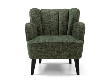 Fabric armchair with armrests KIM   Armchair with armrests