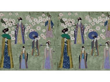 Digital printing wallpaper KIMONO