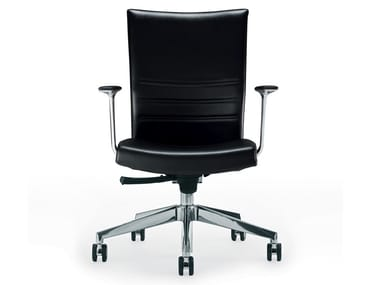King Office Chair With 5 Spoke Base