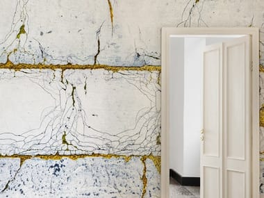 Modern wallpaper, eco-friendly, PVC free and washable KINTSUGI