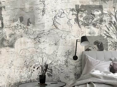 Industrial and modern wallpaper, PVC free, eco, washable KISS