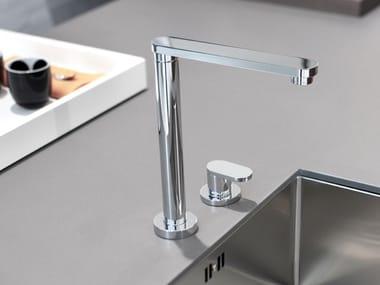Hidden kitchen mixer tap HITECH 334.10 BSC
