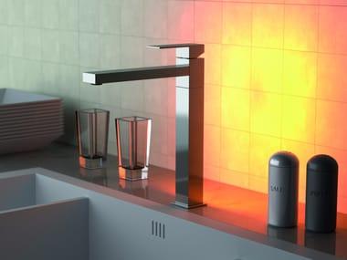 Countertop 1 hole kitchen mixer tap Q-AMBIENT | Kitchen mixer tap