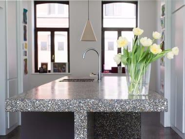 Kitchen worktop with mineral coating BEALSTONE | Kitchen worktop