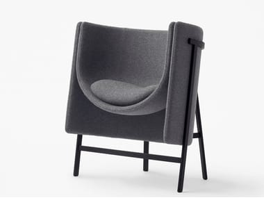 Fabric guest chair KITE | Easy chair