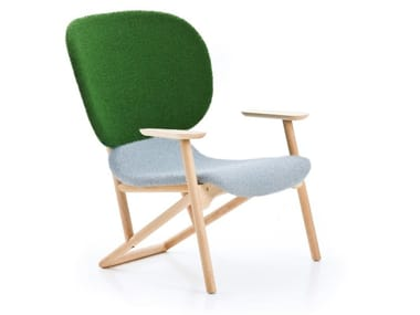 Easy chair with armrests KLARA | Easy chair with armrests