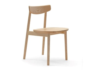 Ash chair KLEE | Solid wood chair