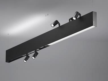 LED aluminium pendant lamp KOAL