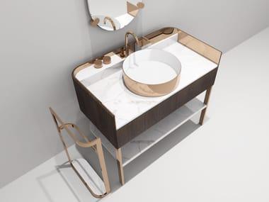 Single marble console sink KOBOL | Single vanity unit