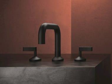 3 hole countertop brass washbasin tap KOÈ - KOE12