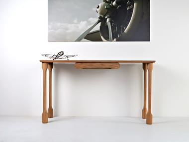 Wooden console table KOPITAR