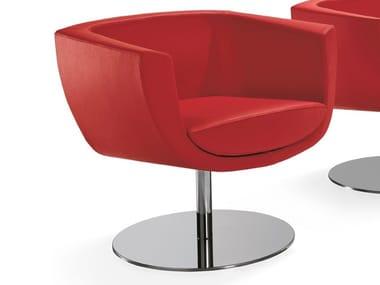 Leather reception chair KOPPA | Chair