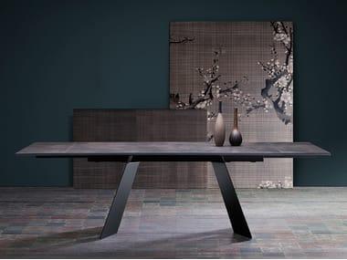 Extending rectangular table KORAL