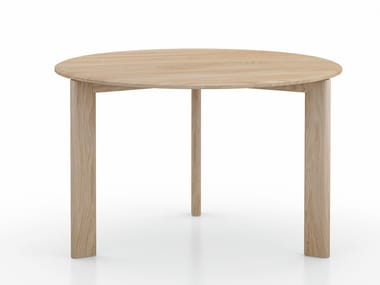 Round oak dining table KOTAI | Round table