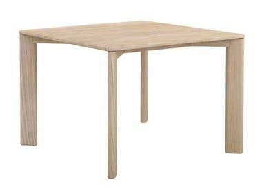 Square oak dining table KOTAI   Square table