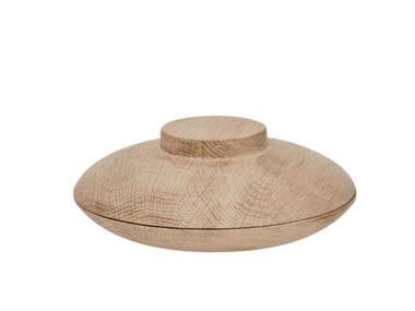 Oak serving bowl KRISTINA DAM - WOODEN GALAXY OAK