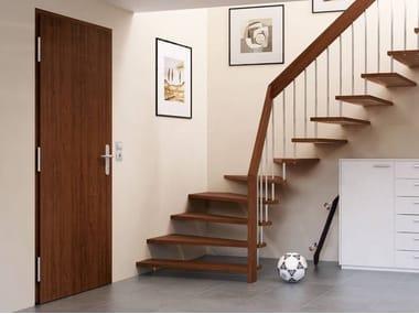 Energy-saving steel entry door KSI THERMO46