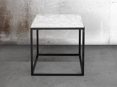 Square coffee table for living room KUB | Square coffee table