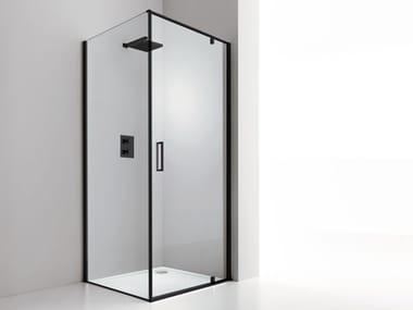 Cabina de ducha de esquina KUBIK6 AB+F1