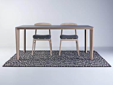Rectangular wooden table KULER