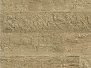 Pavimento in gres porcellanato effetto legno KUNI ALMOND
