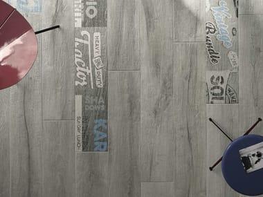 Pavimento in gres porcellanato effetto legno KUNI G
