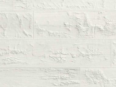 Pavimento in gres porcellanato effetto legno KUNI WHITE