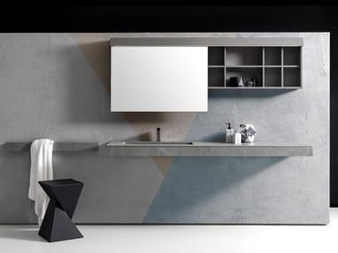 Bathroom cabinet / washbasin KUT 06