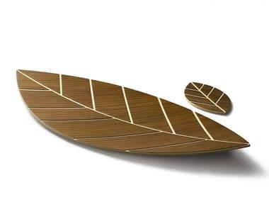 Plywood tray KUVIO LEAF
