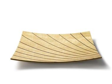 Square plywood tray KUVIO SQUARE