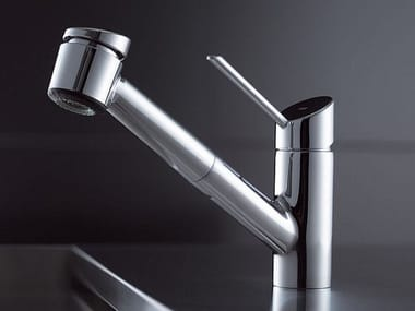 Countertop kitchen tap with pull out spray KWC BLISS | Kitchen tap with pull out spray