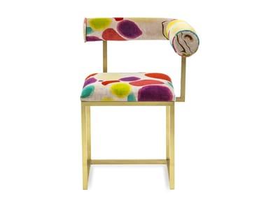 Upholstered velvet chair L | Upholstered chair