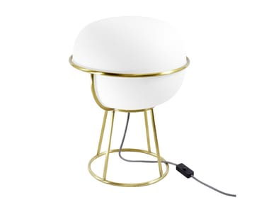 Sandblasted glass table lamp L88 | Table lamp